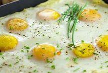 Spinat mit Ei und Kartoffelpüree
