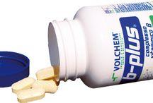 Vitamine / Una serie di foto delle confezioni disponibili di vitamine.