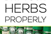 Dry Herbs Properly