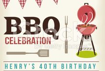 retro barbecue party