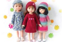 Knitting for dolls. / by CSKraft