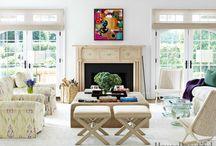 Furniture layout in design