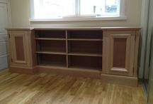 Custom Joinery / Custom joinery items made to our customers needs and requirements