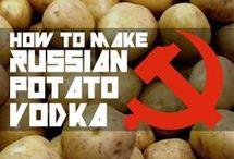 Vodka készités