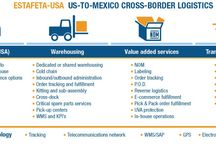 The Estafeta USA Process / Estafeta USA offers fully integrated, comprehensive logistical solutions tailored to fit the needs of US companies wishing to ship products to customers in Mexico.