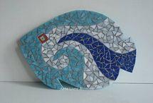Mosaico em retalho / Pastilhas