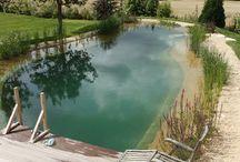 jezírka a bazény