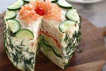 Sweet and savoury cakes