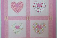 Inspiration for Heart Quilts and Quilts with Hearts / Inspiration for Heart Quilts and Quilts with hearts