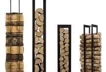 Puiden säilytys Fire wood storage