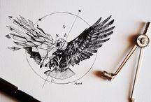 Tatuaje halcón