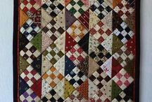 Miniature Quilt / miniaturní quilty