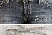 melebarkan pinggang jeans