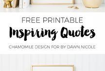 Printables