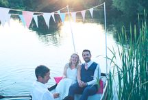 Duncton Mill Wedding Lake and Marquee
