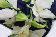 Nel Silk Scarves