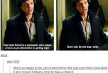"""Sherlock / """"I'm a consulting detective. The only one in the world. I invented the job."""""""