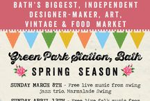 April 12th Spring Market / Have a sneak peek of some of the talented traders at our Spring market at Green Park Station, Bath