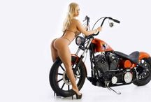 Babes with bikes