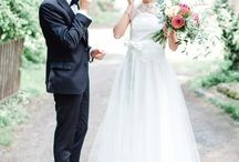 | first look | / the moment when bride and groom see each other for the first time on their wedding day