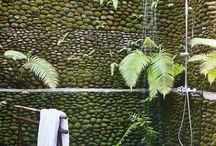 Garden shower ideas