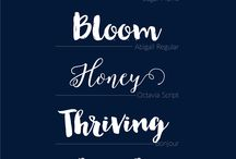 Fonts and things