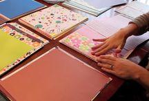 scrapbook paper projects