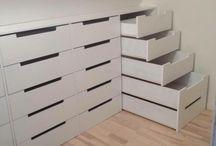 Garderobe og lagringsplass