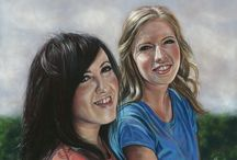 People Portraits / Portraits done in pastels.  Working from good clear photographs these portraits are a timeless piece of art.  Have someone special painted, just contact me to chat about what you'd like.  You'll also find more information on my website http://www.emmacolbertart.com/