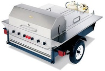 Tailgating Trailers / Commercial tailgating trailers and barbecue grills geared to the serious tailgating partier and professional!