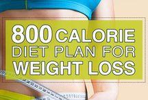 loss weight 800 calories