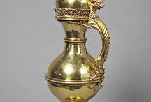 antik ezüst tárgyak arany,  bronz / régiségek