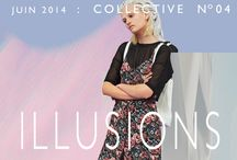 COLLECTIVE N°4: ILLUSIONS / #urbanoutfitters #collective #rosannawebster #ss14 http://lesgarconsenligne.com/2014/06/14/collective-n4-illusions/