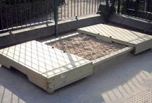 Sandpit ideas / inspiration to create the perfect sandpit for my princess