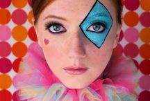 maquiagem circo
