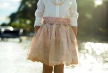 Girls' style. / Kids fashion for girls.
