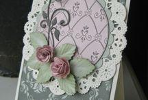 Papicolor / Creaties en kaarten waarbij het karton, papier, cardstock of andere soorten papier centraal staan.