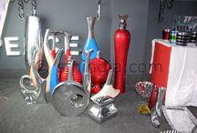 Aluminium Vase Collection / Super Fine Handicrafts manufacturers classic,modern,contemporary,glossy enamel aluminium vases. http://www.sfhindia.com