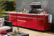 Cuisines et barbecue d'extérieur