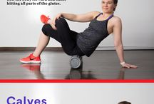Stretches/foam roller