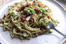 Spaghetti met oesterzwammen / Hoofdgerecht