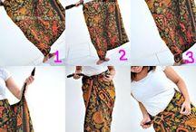 cara pakai kain untuk rok