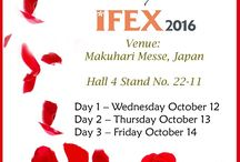 IFEX 2016 / Soex Flora participation in Japan's Largest Flower Industry Trade Show!!!