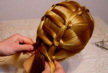 Hair Tutorial / Tante idee acconciature per chi vuole cambiare look ed essere alla moda. Tutorial per imparare a realizzarle.
