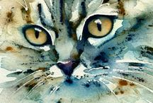 Cat paintings / Cats