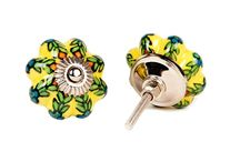Ceramic Drawer Knobs / Ceramic cabinet knobs in striking colors and gorgeous patterns. Choose from a interesting selection of floral designs brighten up your old furniture.