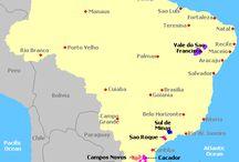 Brasil - wine maps