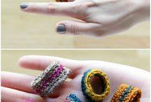 Anillo crochetero