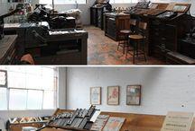 Letterpress studio