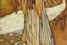 Arthur Rackham fairytale illustrations